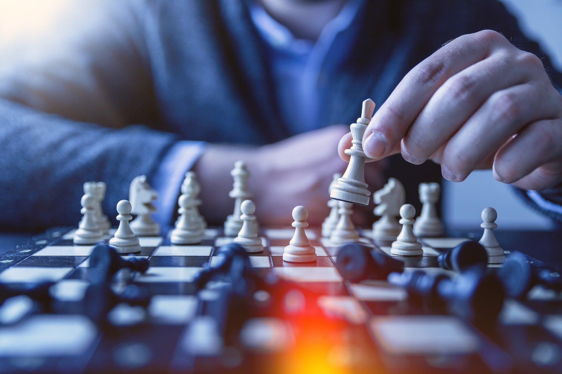 Stratégie du joueur d'echec