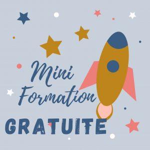 mini formation gratuite fusée et étoiles