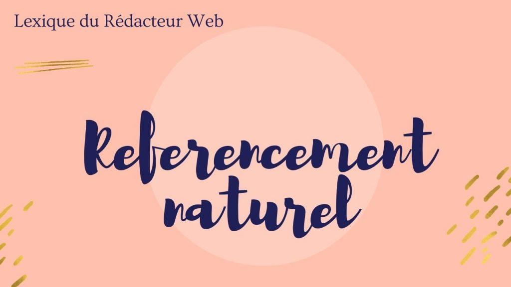 référencement naturel